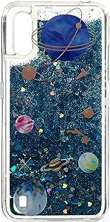 جراب خلفى قوى بحركة مائية وجليتر لسامسونج جالاكسى A01 - متعدد الالوان