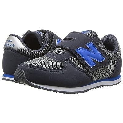 New Balance Kids KV220v1I (Infant/Toddler) (Grey/Blue) Boys Shoes