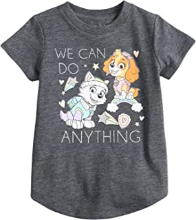 Toddler Girls 2T-5T Paw Patrol Skye & Everest We Can Do Anything Glittery Graphic Tee