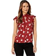 Rebecca Taylor - Sleeveless Paintbrush Top