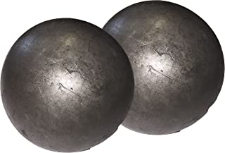 "Hollow 3"" steel ball weldable DIY project component (2-pack)"