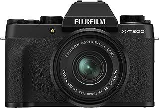 Fujifilm Digital FUJIFILM X-T200 systemkamera svart med XC15-45 mmF3.5-5.6 OIS PZ Kit