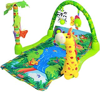 Baby Gift Rainforest Musical Gym Lullaby Baby Activity Mat Play Gym Toys