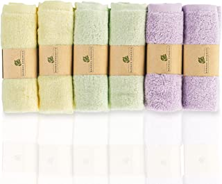 Best Washcloths Baby Bamboo Soft & Hypoallergenic Skin Sensitive Skin Baby Wipes by Organic Bamboo