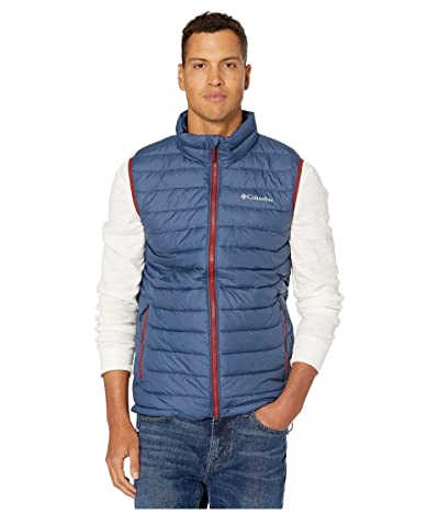 Columbia Powder Litetm Vest (Dark Mountain/Red Jasper Pop) Men
