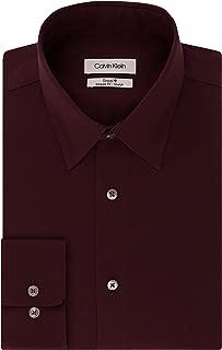 Men's Dress Shirt Regular Fit Non Iron Stretch Solid