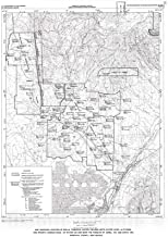 Historic Pictoric Map : Water Resources on The Pueblos of Jemez, Zia, and Santa Ana, Sandoval County, New Mexico, 1992 Cartography Wall Art : 24in x 36in