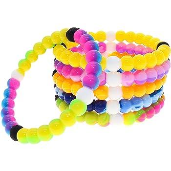 Amazon.com: FROG SAC VSCO Bracelets for Teen Girls, Beaded Rubber Bracelets  for Girls, Cute VSCO Girl Stuff Bead Bracelet, Silicone Kids Bracelets  Gifts, Girls Bracelets Teen Party Favors, Friendship Bracelets: Clothing
