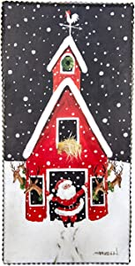 The Round Top Collection - Gallery Reindeer Barn - Wood & Metal