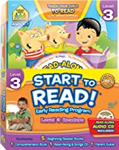 School Zone - Start to Read!® Level 3 Early Reading Program 6-Book Set, First Grade, Ages 6 to 7, Books, CDs, Workbooks, P...