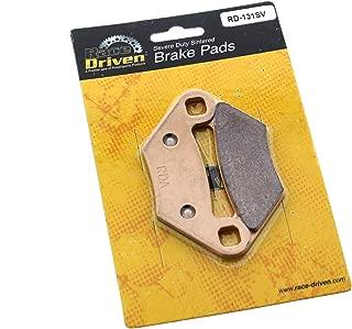 Race Driven Rear Sintered Metal Severe Duty Brake Pads for Polaris Sportsman Hawkeye