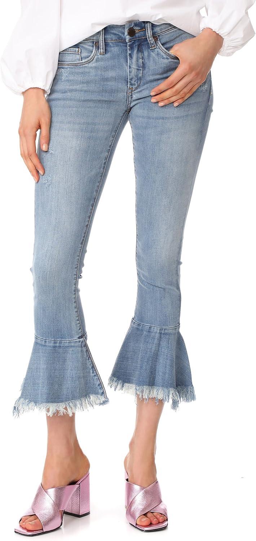 Blank Denim Women's Trumpet Flare Jeans