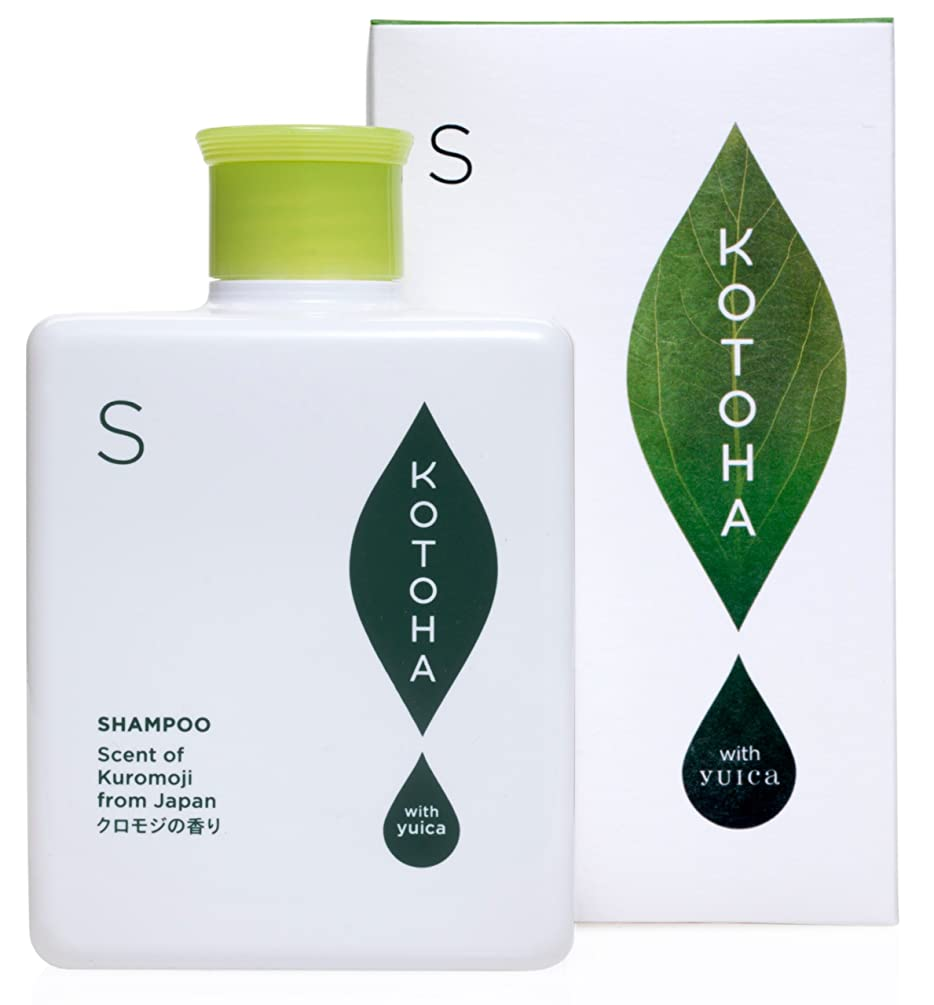 素晴らしいです濃度惑星KOTOHA with yuica ヘアシャンプー やすらぎの香り(クロモジベース) 300mL