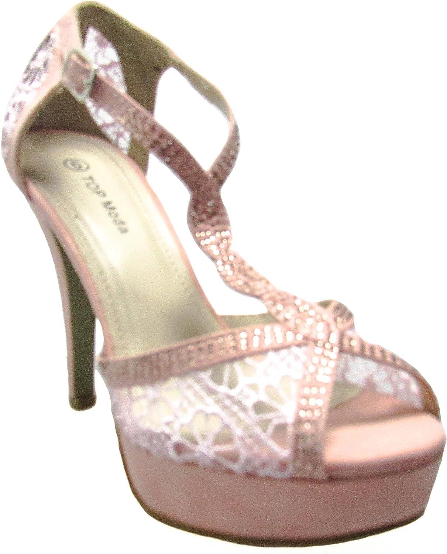 Top Moda Womens HY-5 Black Footwear D(M) US