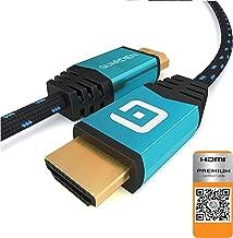 USB Conversione 4K Ultra HD Multiroom con Sony DLC-HE20BSK Cavo HDMI da 2 metri ad alta velocit/à con Ethernet Sony BDP-S6700 Lettore Blu-Ray Full HD 3D Wi-Fi