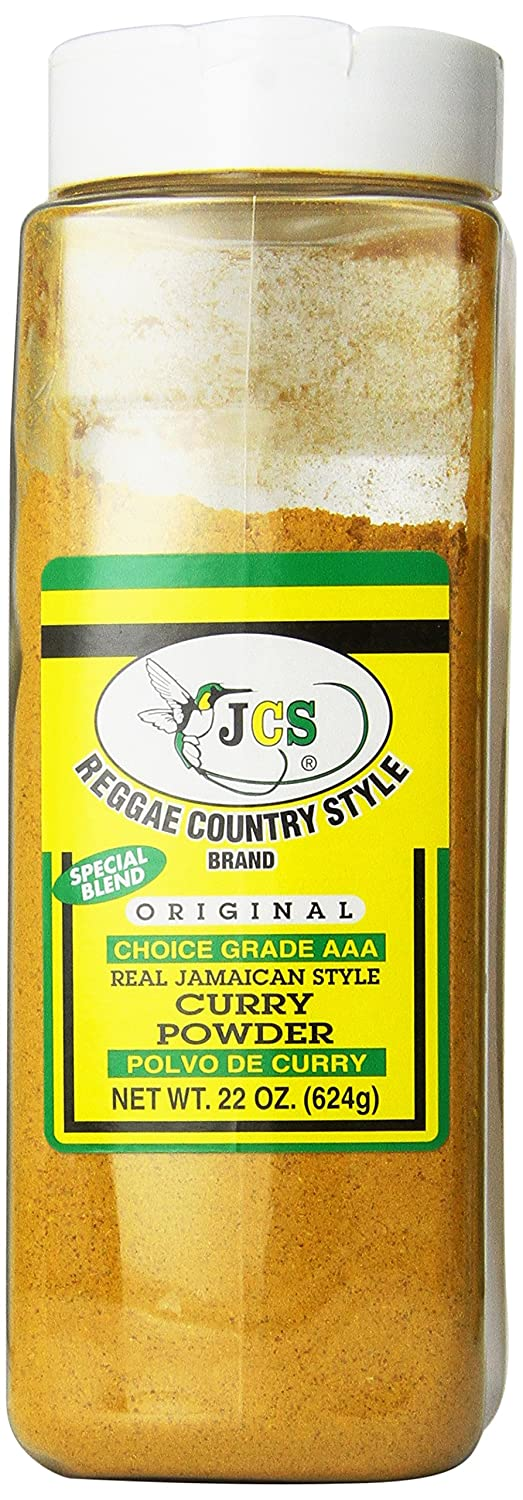 JCS Reggae Country Style Brand Real Jamaican Style Curry Powder