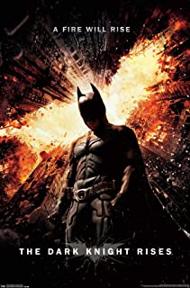 """Trends International Dark Knight Rises One Sheet Collector's Edition Wall Poster 24"""" X 36"""""""