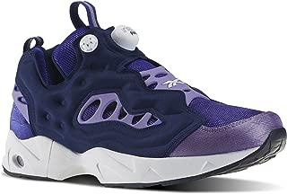 Mens Instapump Fury Road Running Shoe Team Purple/Smoky Violet/Navy Blue/White