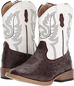 Roper Kids - Western Square Toe Boot (Toddler)