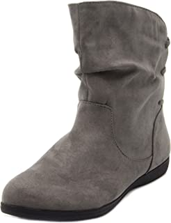 Sugar Women's Brooke Slouched Flat Ankle Boot Bootie