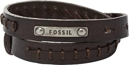 Fossil Pulsera de Hombre con latón