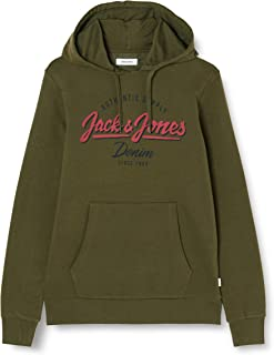 Jack and Jones Jjelogo Sweat Hood 2 Col 19/20 Noos Sweatshirt Erkek