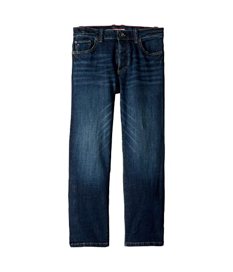 Jeans Relaxed Fit with Velcro<sup>®</sup> Magnet Buttons (Toddler/Little Kids/Big Kids)