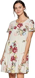 VERO MODA Women's A-Line Midi Dress
