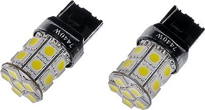 Dorman 7440W-SMD White LED Turn Signal Light Bulb, (Pack of 2)