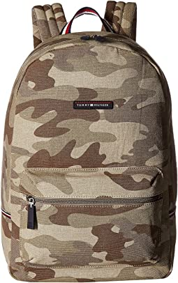 Tommy Hilfiger - Alexander Camo Canvas Backpack