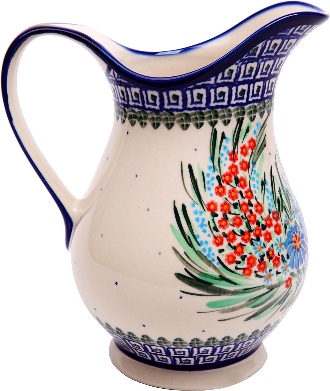 Polish Pottery Ceramika Boleslawiec 0204 169 Pitcher K, 4-1 4 Cup