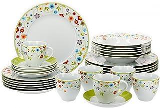 Van Well Vario hochwertiges Porzellan Geschirrset für 6 Per