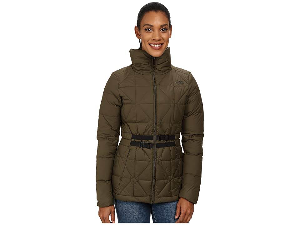 The North Face Belted Mera Peak Jacket (Forest Night Green (Prior Season)) Women