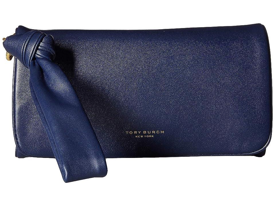 Tory Burch Beau Wristlet (Royal Navy) Wristlet Handbags