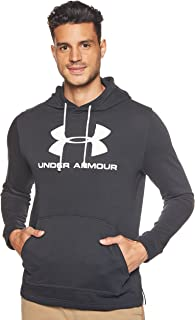 Under Armour Mens Under Armour Men's Sportstyle Terry Logo Hoodie Hoodie