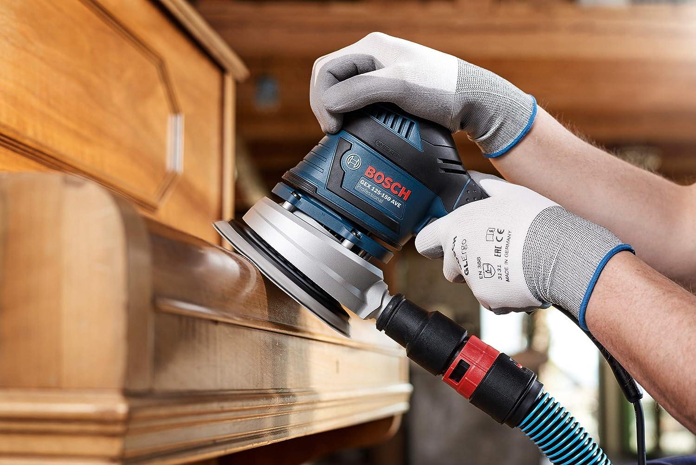 madera y pintura Set de 5 Piezas /Ø 125 mm Bosch Professional 2608621145 Hojas de lija M480 Best for Wood and Paint grano P100 accesorios para lijadora exc/éntrica