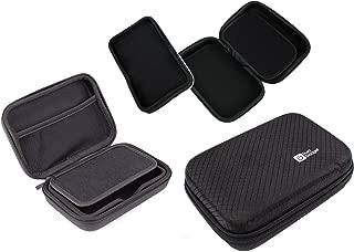 DURAGADGET Executive Black EVA Satnav Hard Case - Suitable for Tomtom Start 55TM, GO 500 Europe Traffic, GO 5000 Europe & GO Live Camper & Caravan