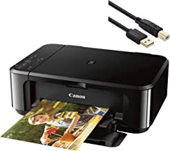 Canon Pixma MG3620 Wireless Inkjet All-in-One Printer - Print, Scan, and Copy Business Office Bundle - up to 4800 x 1200 R...