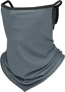 ネックカバー 冷感 UVカット ネックガード 夏 日よけを防ぐ ランニング フェイスカバー防吹き 弾力 紫外線対策 吸汗速乾 通気性 男女兼用