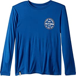 Twin Fin Long Sleeve UPF Sun Tech Tee (Little Kids/Big Kids)