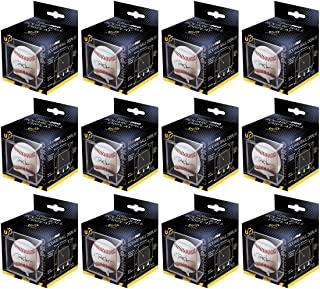 Ultra Pro 12 Square Baseball Display Holder w/Stand UV Protection New Lot Set (12 Baseball Cube Bundle)