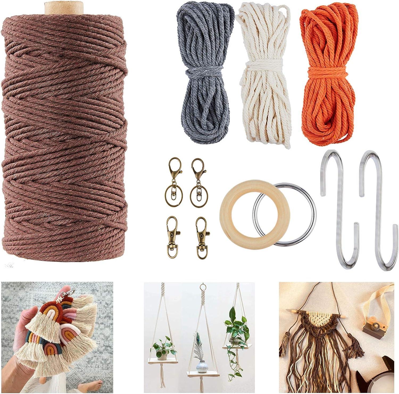 Macrame Kit shipfree - Plant Hanger Kits Beginners Superior Starter W for