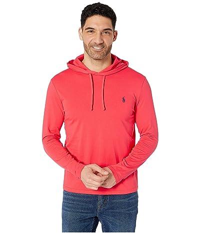 Polo Ralph Lauren Hooded Jersey Tee (Racing Red) Men