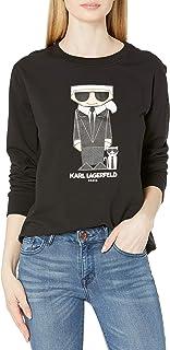 Karl Lagerfeld Paris Women's Karl & Choupette Doll Sweatshirt
