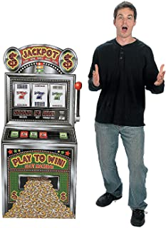 Fun Express - Slot Machine Standup for Party - Party Decor - Large Decor - Floor Stand Ups - Party - 1 Piece