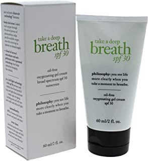 Philosophy Take A Deep Breath Oil-free Oxygenating SPF 30 Gel Cream for Women, 2 Ounce