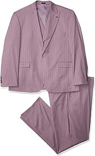 Men's 3 Pc. Modern Fit Suit, Purple, 48R
