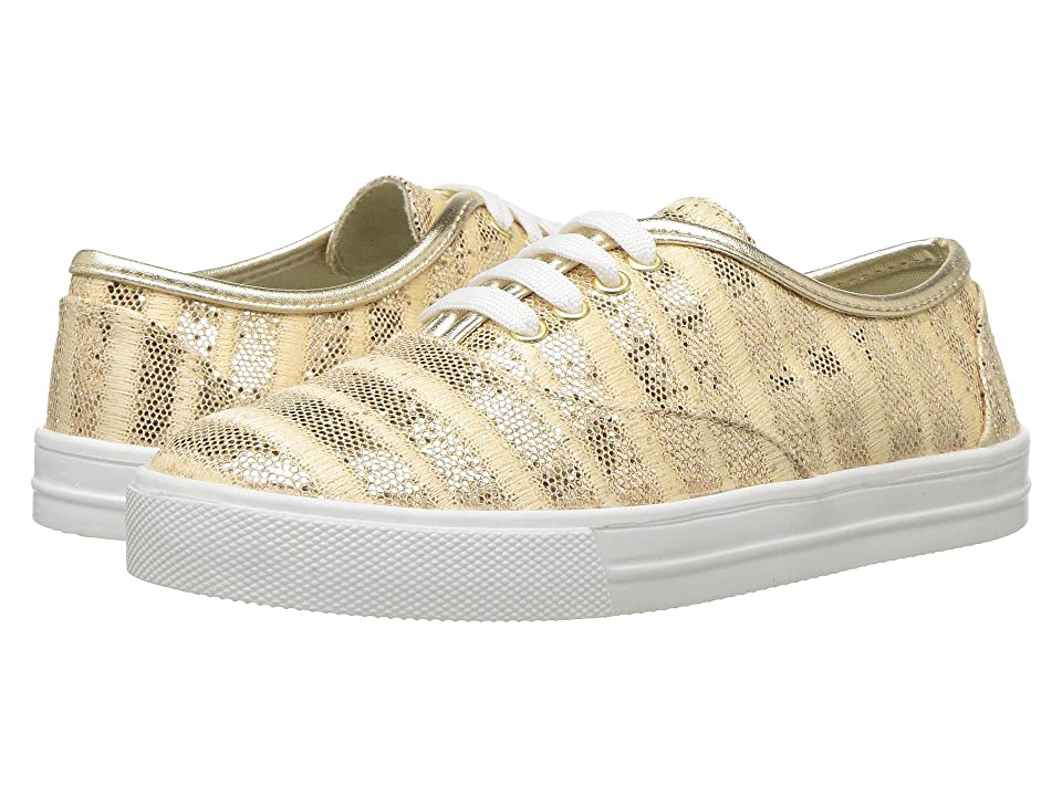 Kid Express Giovanna (Toddler/Little Kid/Big Kid) (Gold Combo) Girls Shoes