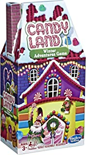 Hasbro Gaming Candy Land Game: Winter Adventures Edition Board Game for Kids Ages 3+