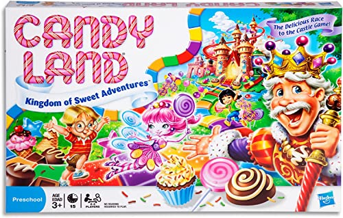 Candy Land - The World of Sweets - Amazon Exclusive - Preschool Board Games and Toys for Kids, Boys, Girls - Ages 3+